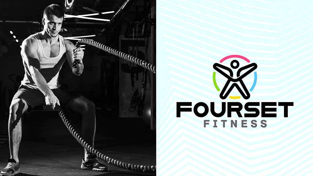 Fourset Fitness Logo GCC