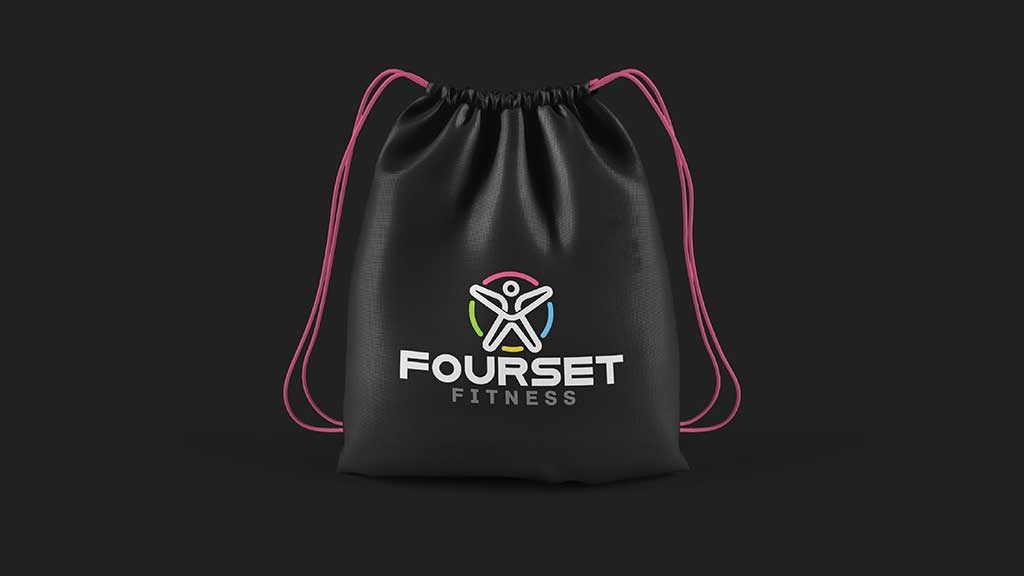Fourset Logo Design by ZeroBulb