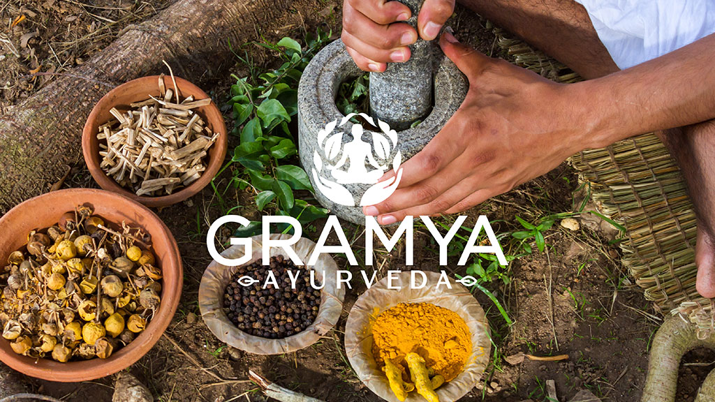 Gramya Ayurveda Center Kerala Professional Branding Design