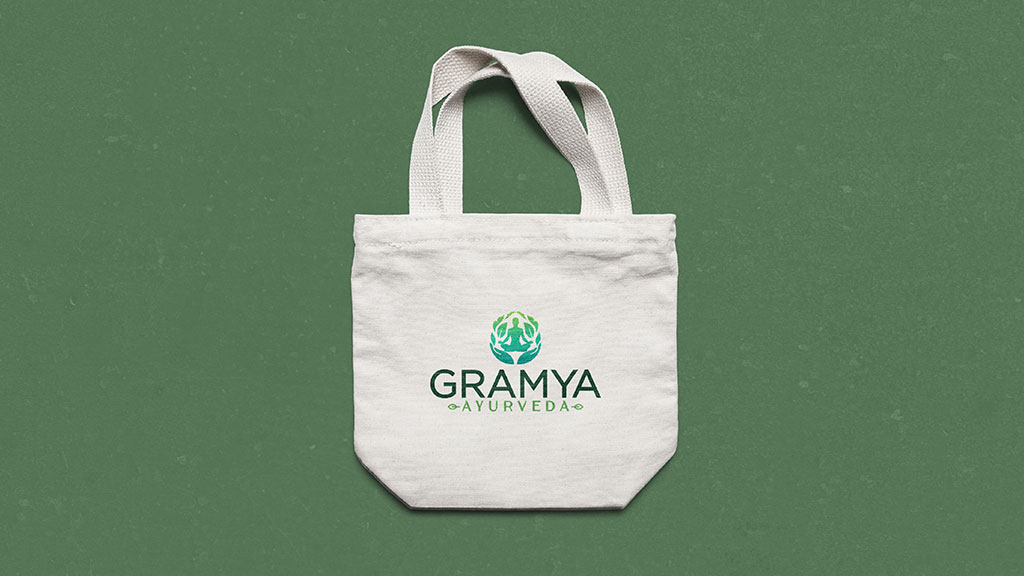 Gramya Ayurveda Hospital Kerala Professional Branding Design