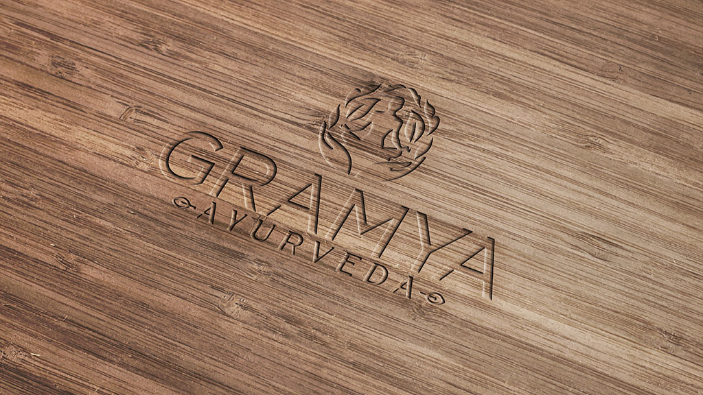 Gramya Ayurveda Hospital Kerala Professional Logo Design Company