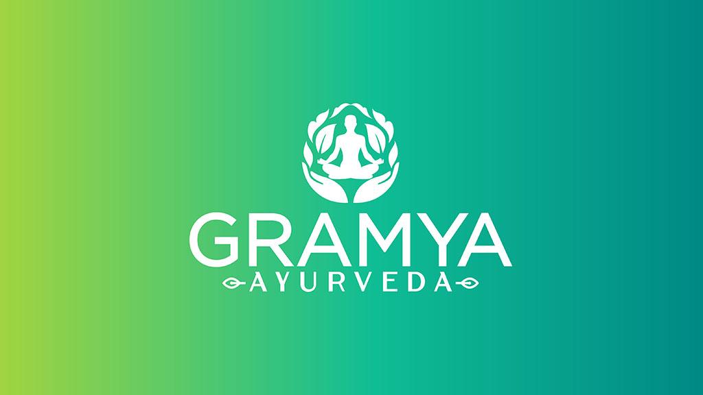 Gramya Ayurveda Hospital Kerala Professional Logo Design
