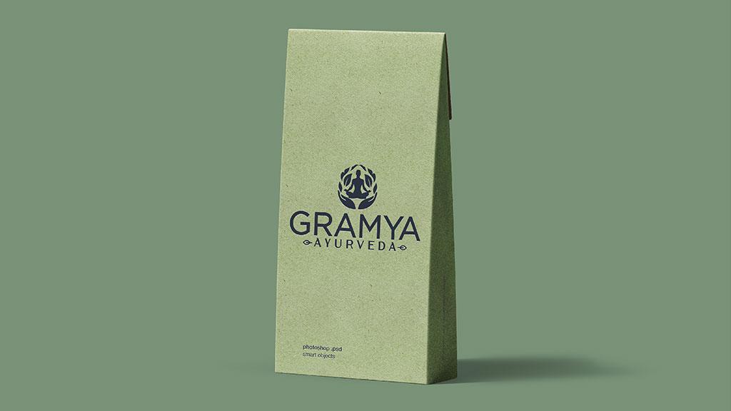 Gramya Ayurveda Hospital Kerala Top Quality Logo Designing