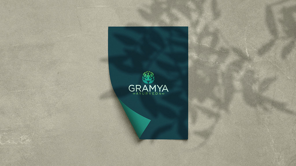 Gramya Ayurveda Indian Professional Branding Design