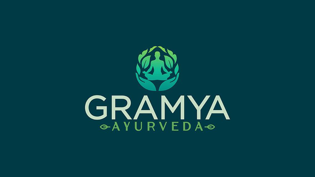 Gramya Ayurveda Kerala Best Logo Design