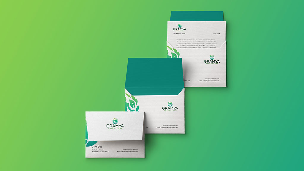Gramya Ayurveda Kerala Professional Branding Designs