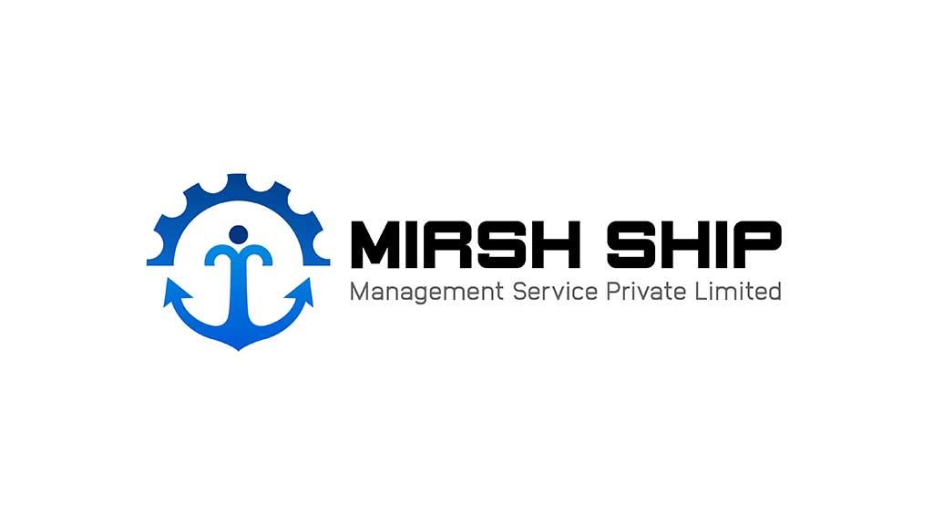 Mirsh Ship Management Services India Logo Designs