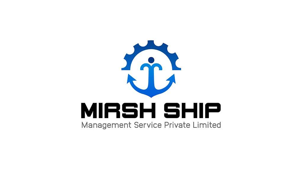 Mirsh Ship Management Services Logo Design Dubai