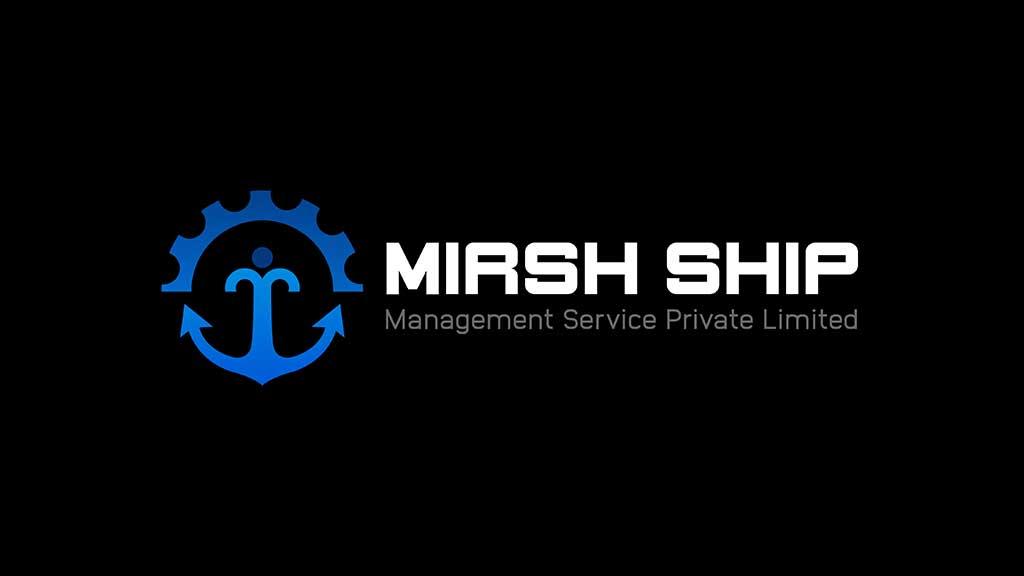Mirsh Ship Management Services Logo Design UAE