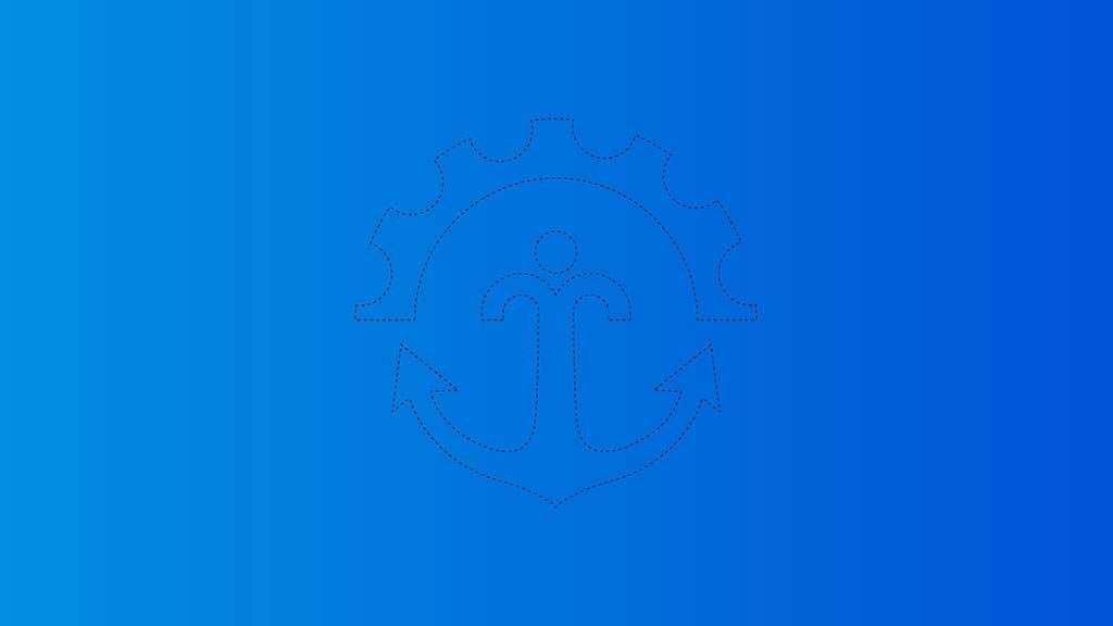 Mirsh Ship Management Services Logo Design