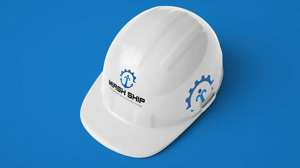 Mirsh Ship Management Services Saudi Arabia Logo Design Presentation