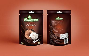 Nalikeras Chocolate Package Design